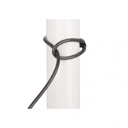 Câble avec serrure à combinaison compatible Norme Kensington