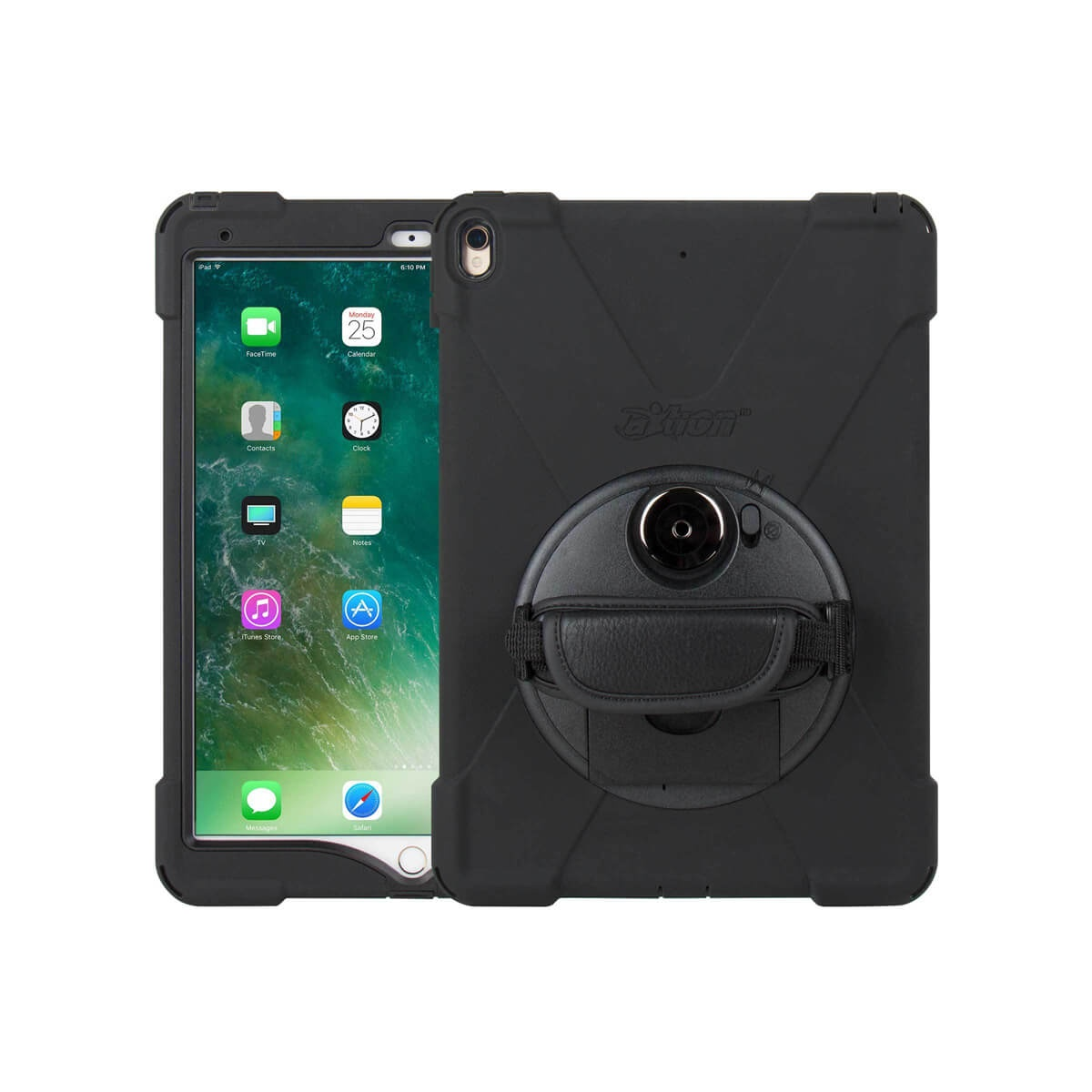 Ultra Slim Water Resistant Rugged Mountable Case For Ipad