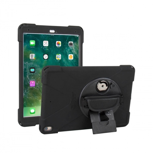 Ultra-slim, water-resistant rugged mountable case for iPad Pro 10.5