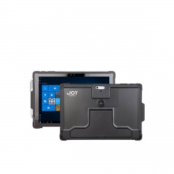 Coque de Protection Sécurisée Compatible Surface Pro - The Joy Factory - Norme IP64 - Noir - SGM101
