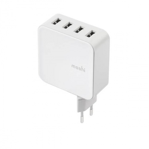 ProGeo - Chargeur mural 4 ports USB