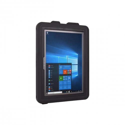 Coque de Protection Complète Ultra Rigide et Etanche Compatible Surface Pro - The Joy Factory - Norme IP68 - Noir - CWM309