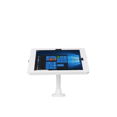 Support Stand Mural ou Comptoir à Bras Flexible Compatible Surface Pro - The Joy Factory - Blanc - KAM306W