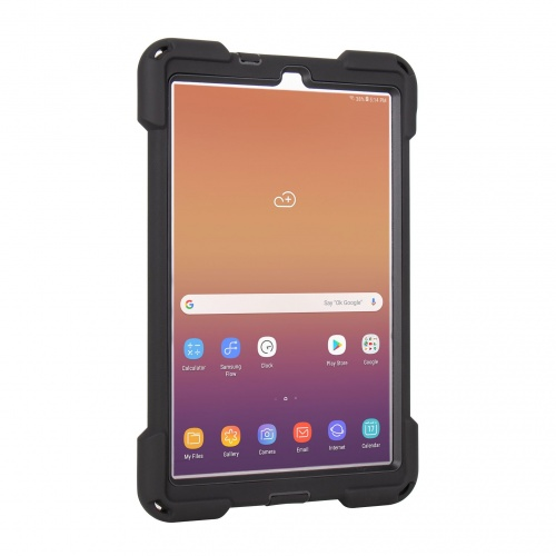Protection Renforcée Compatible Galaxy Tab A 10.5 - The Joy Factory - avec Dragonne - Norme IP64 - CWS202