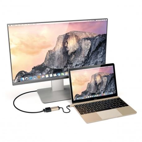 Aluminum TYPE-C to HDMI Adaptater 4K @60HZ Space Gray