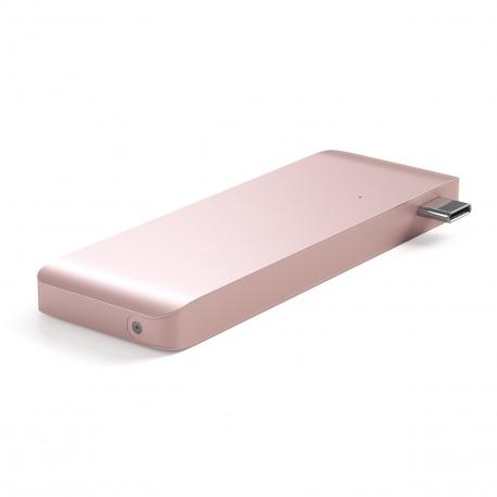 Type-C Pass-Through USB Hub with USB-C Charging port