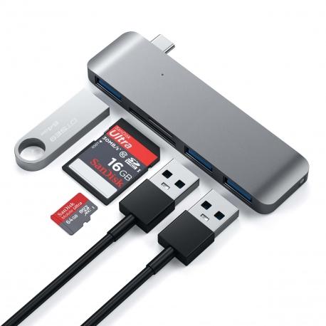 Type-C USB 3.0 3-in-1 Combo Hub