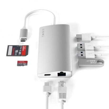 Type-C multi-port Adapter 4K With Ethernet V2