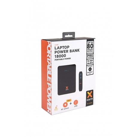 Batterie externe ordinateur 2 sorties USB - POWERBANK PRO 18.000