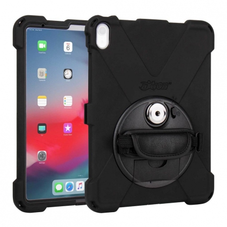 Protection Renforcée Compatible iPad Pro 11 - The Joy Factory - avec Dragonne - Norme IP64 - CWA722