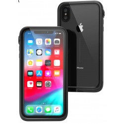 Protection Renforcée Etanche Compatible iPhone XS Max - Catalyst - Noir