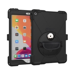 Ultra-slim, water-resistant rugged mountable case for iPad 10.2