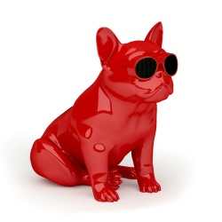 "Wireless, portable speaker Design ""BullDog"""