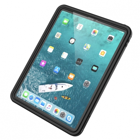 Protection Renforcée Etanche Compatible iPad Pro 12.9 (2018) - Catalyst - Noir