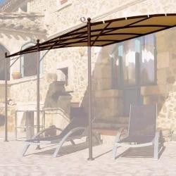 Toile Murale Universelle 400g/m dim 4x3m Adaptable Tonnelle GIV-50021 -  Polyester/ PVC