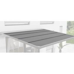 Toile de Rechange pour Tonnelle Aluminium Murale Cassis Polyester 280 g