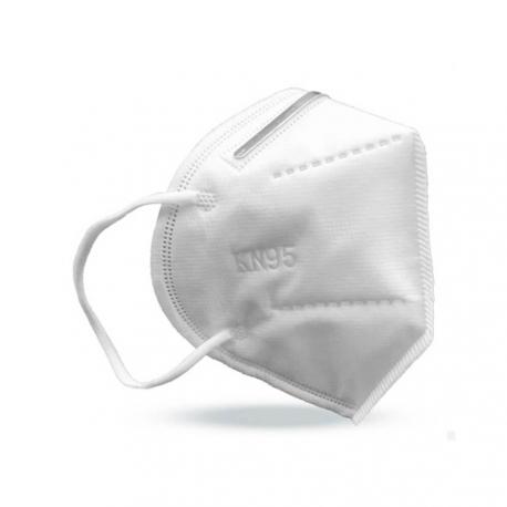 Lot de 5 sachets de 10 Masques KN95 type FFP2 - filtre anti Covid-19 - pour les professionnels