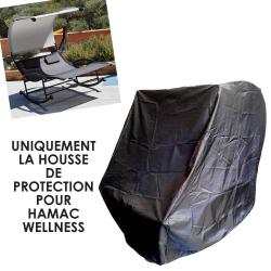 Housse de protection PVC  couleur noire hamac double Wellness