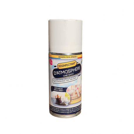 Désinfectant d'atmosphère à usage unique - Aérosol 150 ml One Shot