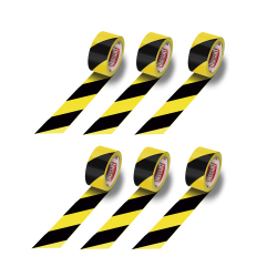 Floor marking tape - Black and Yellow