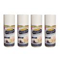 Lot de 4 Désinfectants d'atmosphère à usage unique - Aérosol 150 ml One Shot - Made in France
