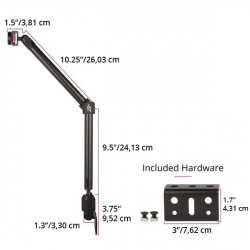 MagConnect Wheelchair Rail Mount Only