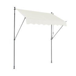 Store Banne SUVA - Auvant manuel pour terrasse 250x130 - Ecru