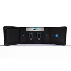 Electrostimulateur DUO  SPORT sans fil - Noir