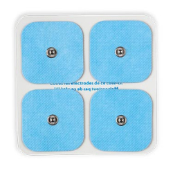 Pack of 12 Electrodes - Size S - High quality