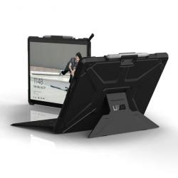 Coque Folio Renforcée pour Surface Pro X - Norme IP64 - Noir