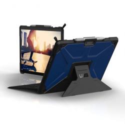 Coque Folio Renforcée pour Surface Pro X - Norme IP64 - Cobalt