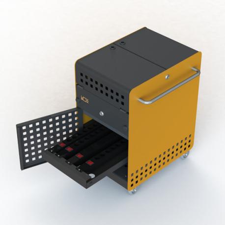 Chariot de Charge Sécurisé pour 20 Tablettes et/ou Ordinateurs Portables