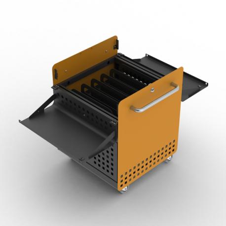 Chariot de Charge Sécurisé pour 30 Tablettes et/ou Ordinateurs Portables