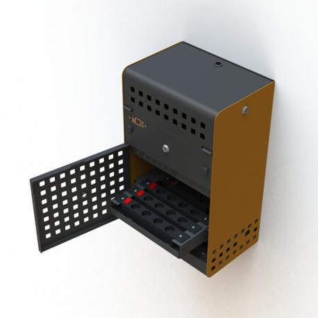 Armoire de Charge Sécurisée pour 10 Tablettes et/ou Ordinateurs Portables