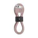 Cable with USB to Lightning Connector (1.2m) - BELT - Pink
