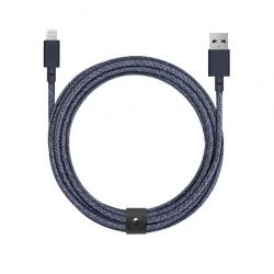 Câble avec Connecteur USB vers Lightning (3m) - BELT - Indigo