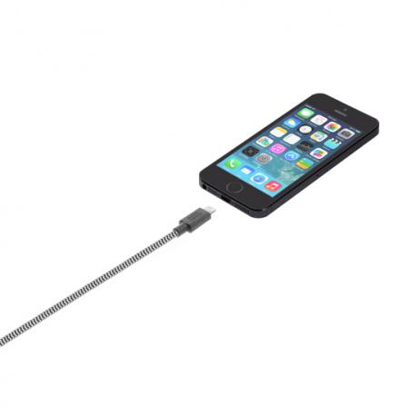 Câble avec Connecteur USB vers Lightning (3m) - BELT - Zébré