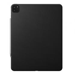 Coque de Protection Arrière en Cuir pour iPad Pro 12.9 (2020) - Noir