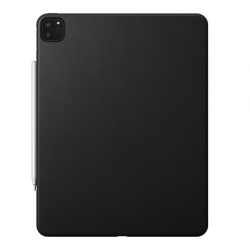 Protective Leather Back Cover for iPad Pro 12.9 (2020) - Black