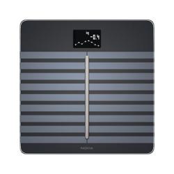 Balance Connectée Body Cardio avec analyse de la composition corporelle et contrôle cardiovasculaire - Noir