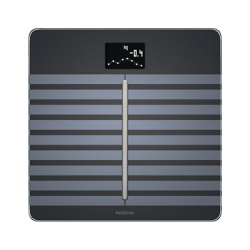 Body Cardio Connected Scale with Body Composition Analysis and Cardiovascular Control - Black