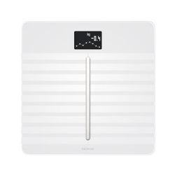 Body Cardio Connected Scale with Body Composition Analysis and Cardiovascular Control - White