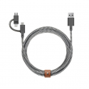 Cable with USB to Lightning Connector (2m) - BELT - Zebra