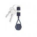Porte-Clés Câble de Chargeur USB-A Lightning - Indigo