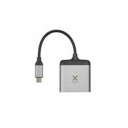 USB-C to 2x HDMI Hub - XTORM - Gray