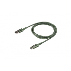 Cable with USB connector to USB-C (1m) - Green