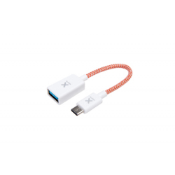 Mini USB-C to USB Female Adapter - Orange