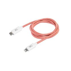 Câble avec Connecteur USB vers Lightning (1m) - Rouge