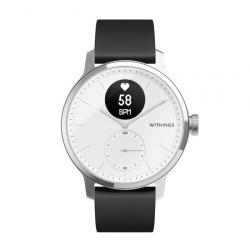 Montre Connectée Hybride - ScanWatch 42mm - Blanc