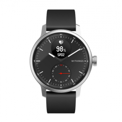 Hybrid Connected Watch - ScanWatch 42mm - Black